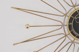 Starburst Decorative Clock in Regina